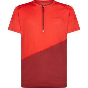 La Sportiva Limitless T-Shirt Uomo, poppy/chili